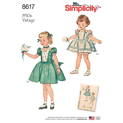 S8617A Toddlers Sewing Pattern ()