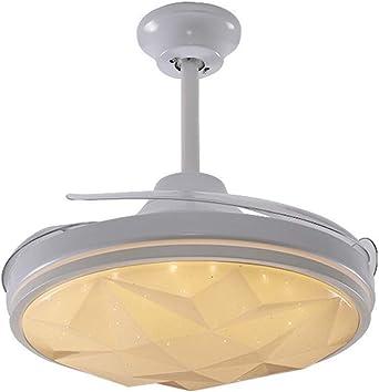 42 Luz del ventilador de techo Con mando a distancia Invisible ...