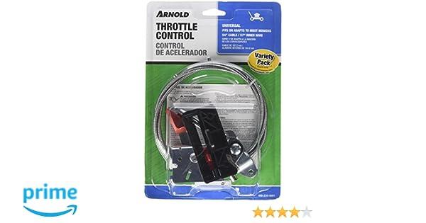 Amazon.com : Arnold Universal Walk-Behind Mower Throttle Control Kit : Ceiling Fan Accessories : Garden & Outdoor