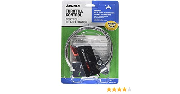Amazon.com : Arnold Universal Walk-Behind Mower Throttle Control Kit : Ceiling Fan Accessories : Garden & Outdoor