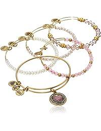 Alex and Ani I Love You Mom Set of Five Rafaelian Bangle Bracelet