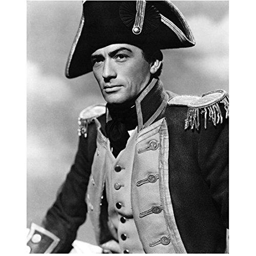 Gregory Peck Dressed as Napoleon 8 x 10 Inch Photo (Hat Napoleon)
