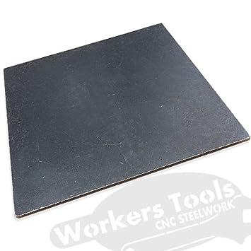 Stahlplatten S235JR nach Maß gebrannt 3-10mm Stark und entgratet