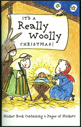 It's a Really Woolly Christmas! Sticker Book Containing 4 Pages of Stickers ebook