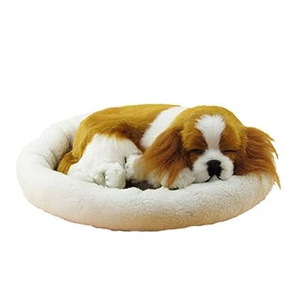 Brown Plush Baby Doll Cute Husky Dog Plush Animal Simulation Juguetes Perro Puppy Toys