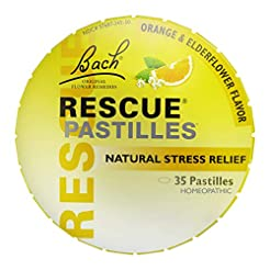 RESCUE PASTILLES, Homeopathic Stress Rel...