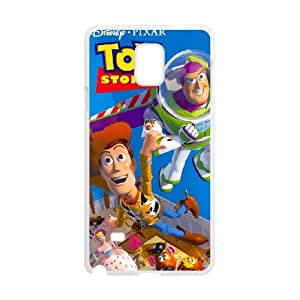 Disneys Toy Story Samsung Galaxy Note 4 Cell Phone Case White DIY Gift zhm004_0468122