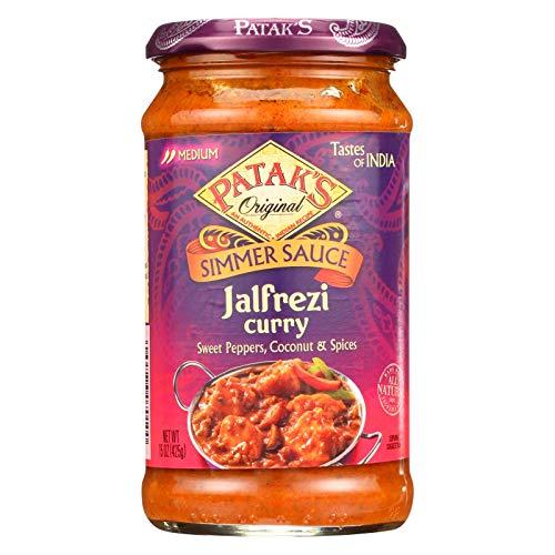 Patak's Jalfrezi Sauce, 14.5-Ounce (Pack of 6)