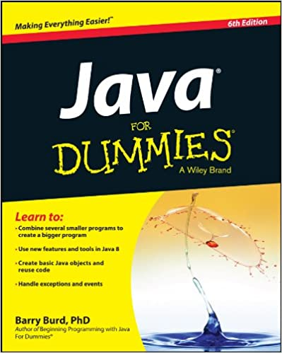 Beginning Programming With Java For Dummies Ebook
