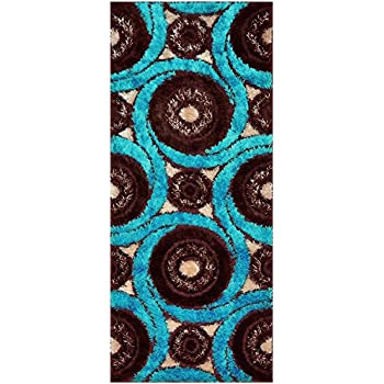 Amazon Com Royal Collection Turquoise Blue Brown