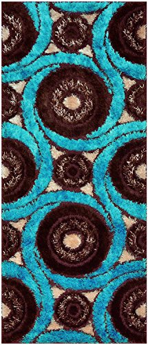 Royal Collection Turquoise Blue Brown Contemporary Design