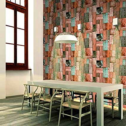 Eurotex 3D Brick Pattern Vinyl Coated Wallpaper (50.01 cm x 10 cm x 10 cm)