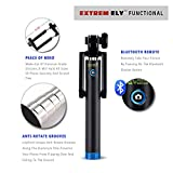 Premium Ultra Light Compact Selfie Stick with Bluetooth Remote Shutter For iPhone 6 6s 7 7plus and Android Phones. Don't Settle For Cheap Wires! No Hassel Return and Refund Policy