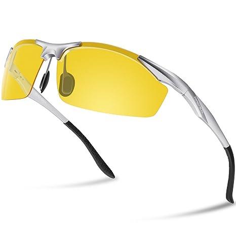paerde deportes gafas de sol polarizadas para Running conducción gafas de montura irrompible, hombre,