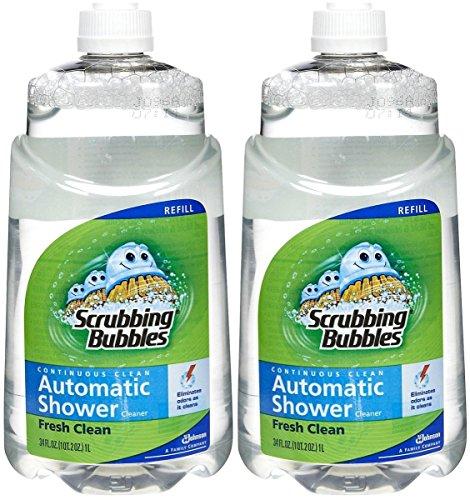 Scrubbing Bubbles Automatic Cleaner (Scrubbing Bubbles Automatic Shower Cleaner Refill - Original - 34 oz - 2 pk)