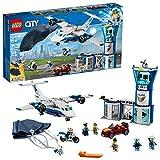 LEGO Policía Aérea: Base de Operaciones City Police (60210) Juguete de Construccion para Niños