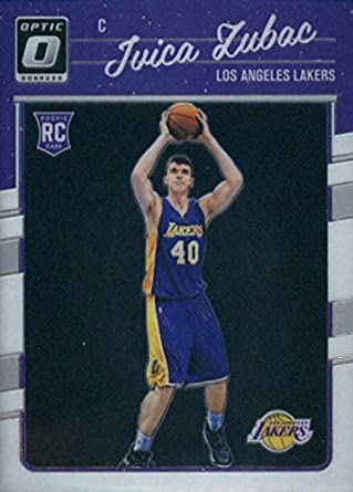 815438250 Amazon.com  2016-17 Donruss Optic  176 Ivica Zubac Los Angeles Lakers  Rookie Basketball Card  Collectibles   Fine Art