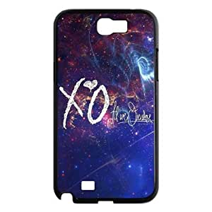 LGLLP The Weeknd XO Phone case For Samsung Galaxy Note 2 N7100 [Pattern-2]