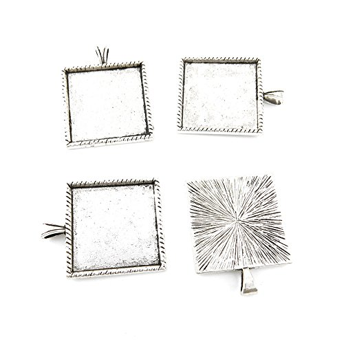 Square Picture Frame Charm - 6