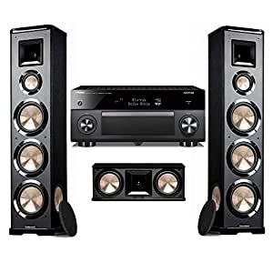 Bic acoustech pl 980 pair pl 28 and yamaha for Yamaha receiver accessories