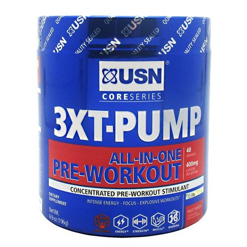 Ultimate Sports Nutrition Core Series 3XT Pump - Fruit Punch - 40 Servings