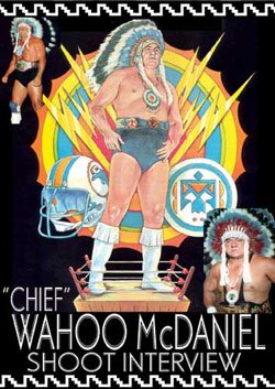 Wahoo McDaniel Shoot Interview Wrestling DVD-R for sale  Delivered anywhere in USA