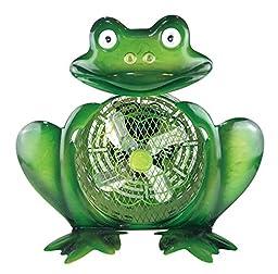 WBM HBM-7009 Himalayan Breeze Decorative Frog Fan