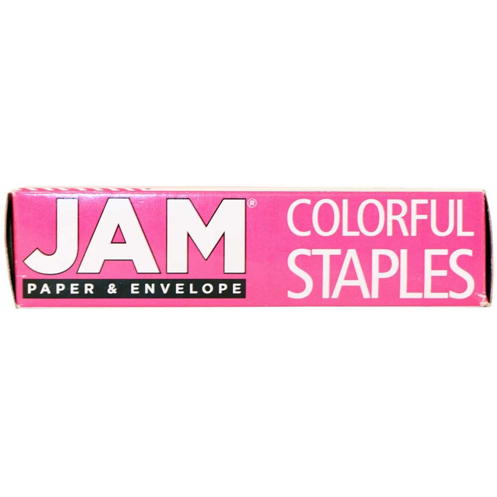JAM PAPER Standard Size Colorful Staples - Pink - 5000/box by JAM Paper (Image #3)