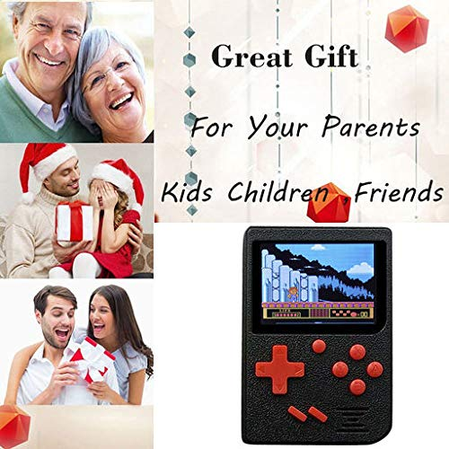 Christmas Best Smartphone!!Kacowpper Retro Mini Handheld Video Game Console Gameboy Built-in 400 Classic Games by Kacowpper (Image #4)