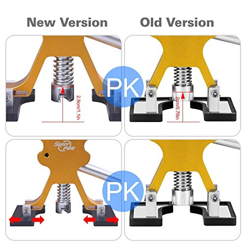 AUTOPDR 52Pcs Dent Repair Kit,Professional Dent Puller Kit,PDR Tools 52Pcs Dent Remover for Car Body Dent Repair Kit by AUTOPDR (Image #1)