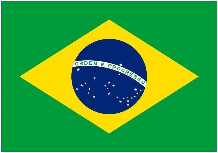 Bandera de Brasil, 150 x 90 cm: Amazon.es: Deportes y aire libre