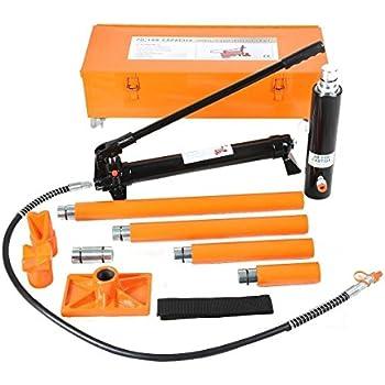Amazon Com 20 Ton Hydraulic Jack Air Pump Lift Porta