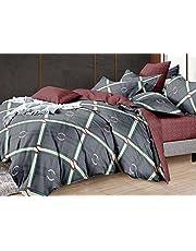 طقم ملايات سرير كبير (5 قطعة) - مطبوع