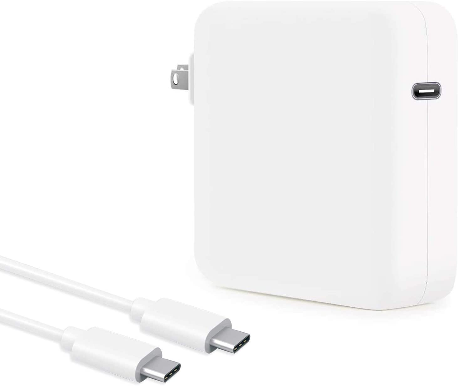 HuanXiLu 96W USB C Charger Power Adapter Compatible for Mac Book Pro 16, 15, 13 inch, for Mac Book Air 13 inch 2020/2019/2018, Included USB C Charge Cable 6.6ft, Compatible with All USB C Device