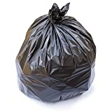 Premium Trash Bags By Totalpack - 40'' X 46'' Superior Garbage Bags Suitable For Kitchen & Bathroom Can - Wide Variety Of Size, Thickness & Capacity - For Home & Professional Use - (100) Black Bags