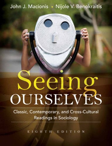 Black Contemporary Cross - Seeing Ourselves: Classic, Contemporary, and Cross-Cultural Readings in Sociology (8th Edition)