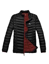 TAK Men Down Jacket Winter Jacket Light Duenn Down Coat Men Down Jacket