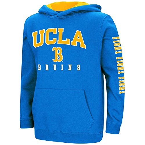 Colosseum UCLA Bruins Youth Hoodie Pullover Sweatshirt (YTH (16-18)) (Bruins Ucla Ncaa Drawstring)