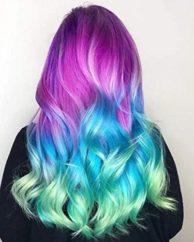 Girls Hair Chalk, Rainbow Hair Chalk, Unicorn Hair Chalk Pens by Twinkle Unicorn (Image #3)