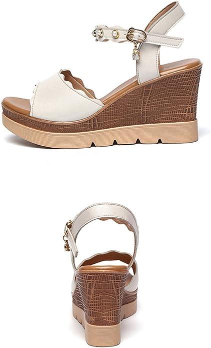 Mobnau Womens Fashion Sandles Summer Wedge Sandals