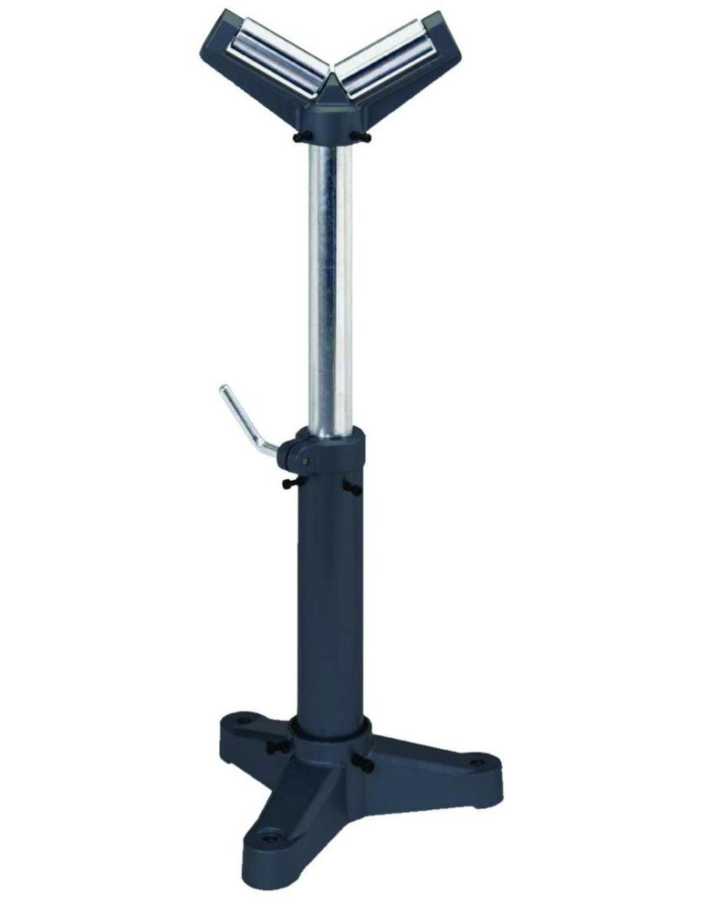 Palmgren V-roller material support pedestal stand, 18''