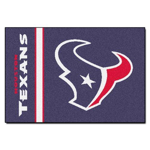 (FANMATS NFL Houston Texans Nylon Face Starter Rug )