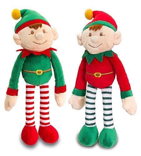Keel Toys Dangly Christmas Elf 12cm by Keel Toys fSngw9N