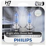 Philips H7 CrystalVision Ultra Upgrade Headlight Bulb, 2 Pack