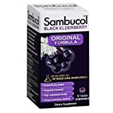 Sambucol Black Elderberry Chewable Tablets, 30 Count, High Antioxidant Black Elderberry Extract Tablets for Daily Immune Support Review