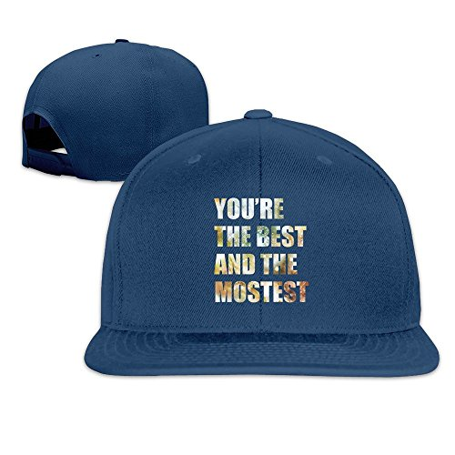 maneg-you-are-the-best-and-the-mostest-unisex-fashion-cool-adjustable-snapback-baseball-cap-hat-one-