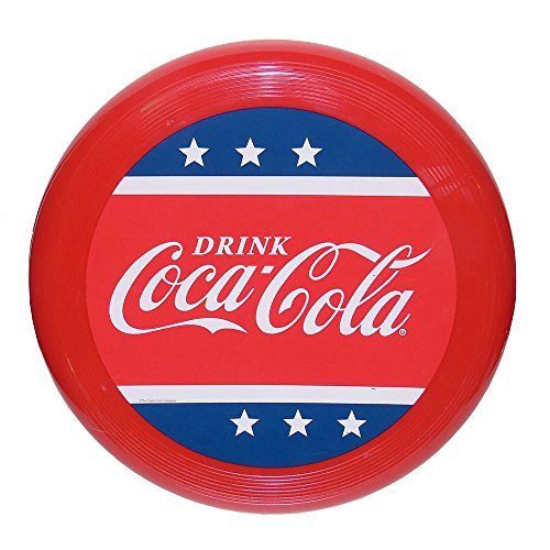 Coca-Cola Red White and Blue Frisbee Flying Disc ()