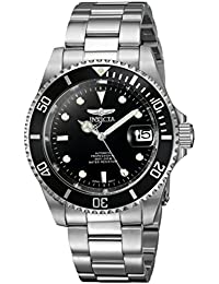 Invicta Men's 8926OB Pro Diver Analog Stainless Steel Automatic Watch with Link Bracelet