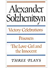 Victory Celebrations, Prisoners & The Love-Girl & The Innocent: Three Plays