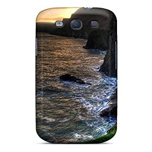 AMzon Case Cover For Galaxy S3 - Retailer Packaging Ballintoy Northern Irel Hdr Protective Case